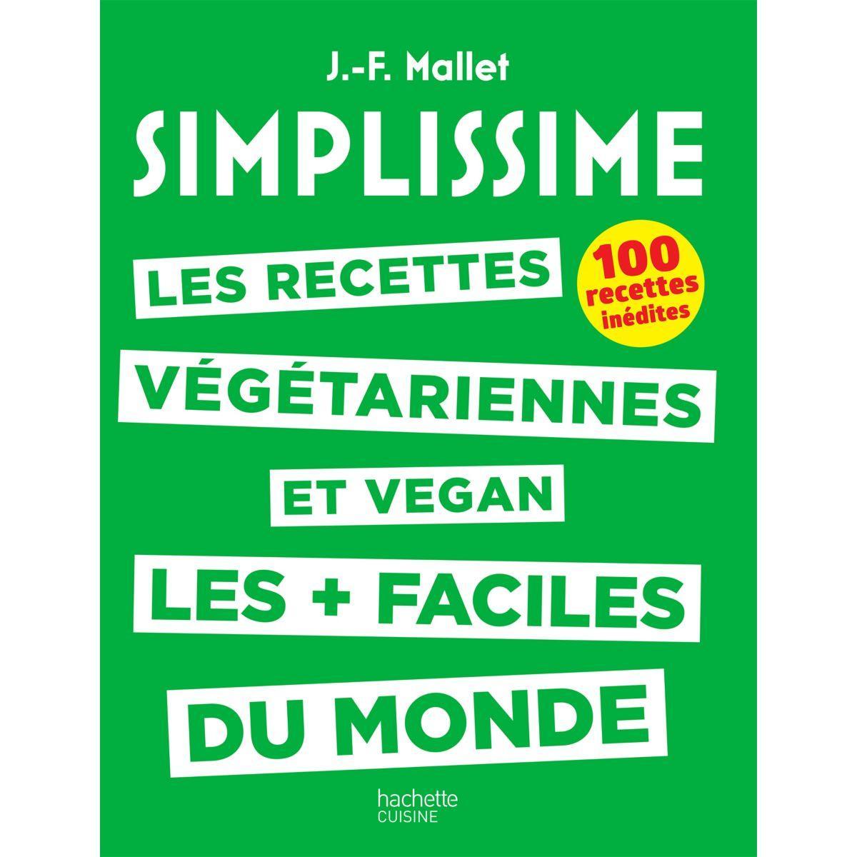 Livre de cuisine hachette simplissime recettes v�g�tariennes/vegan (photo)