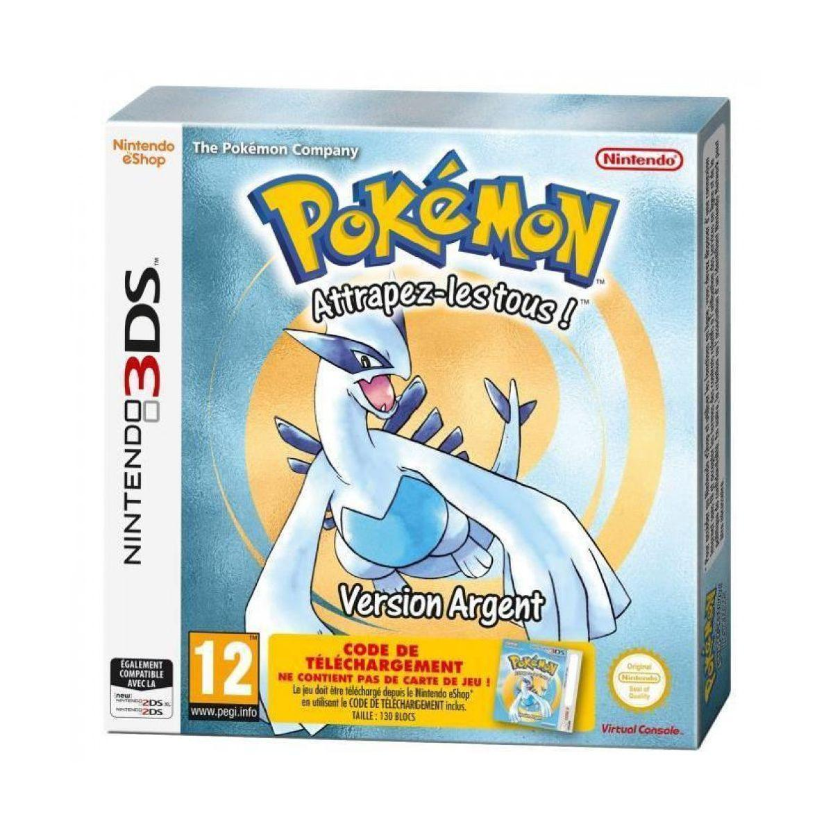 Jeu 3ds nintendo pokémon version argent (photo)