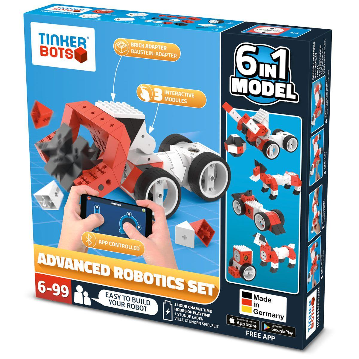Robot programmable tinkerbots robotics advanced set - livraison offerte : code relay