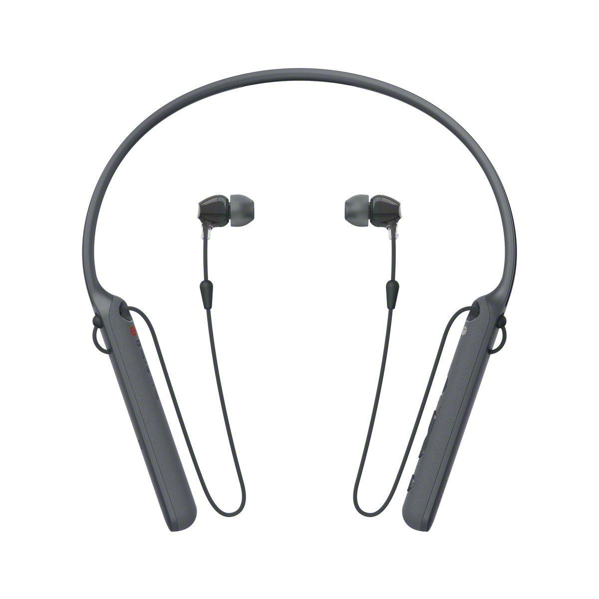 Ecouteurs intra sony wic400b noir - 20% de remise imm�diate avec le code : fete20