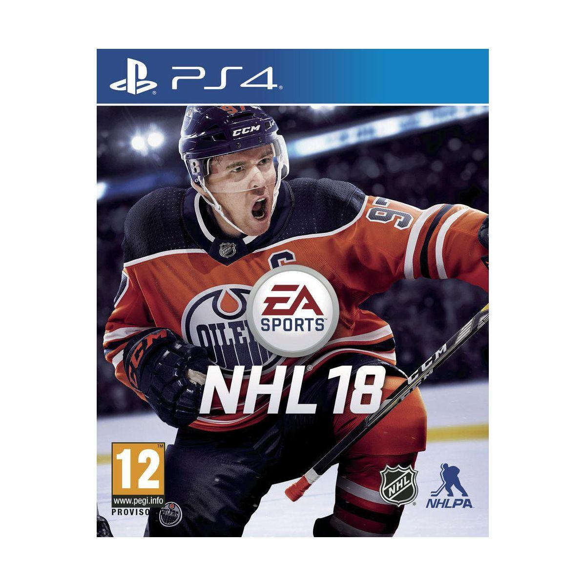Jeu ps4 electronic arts nhl 18 (photo)