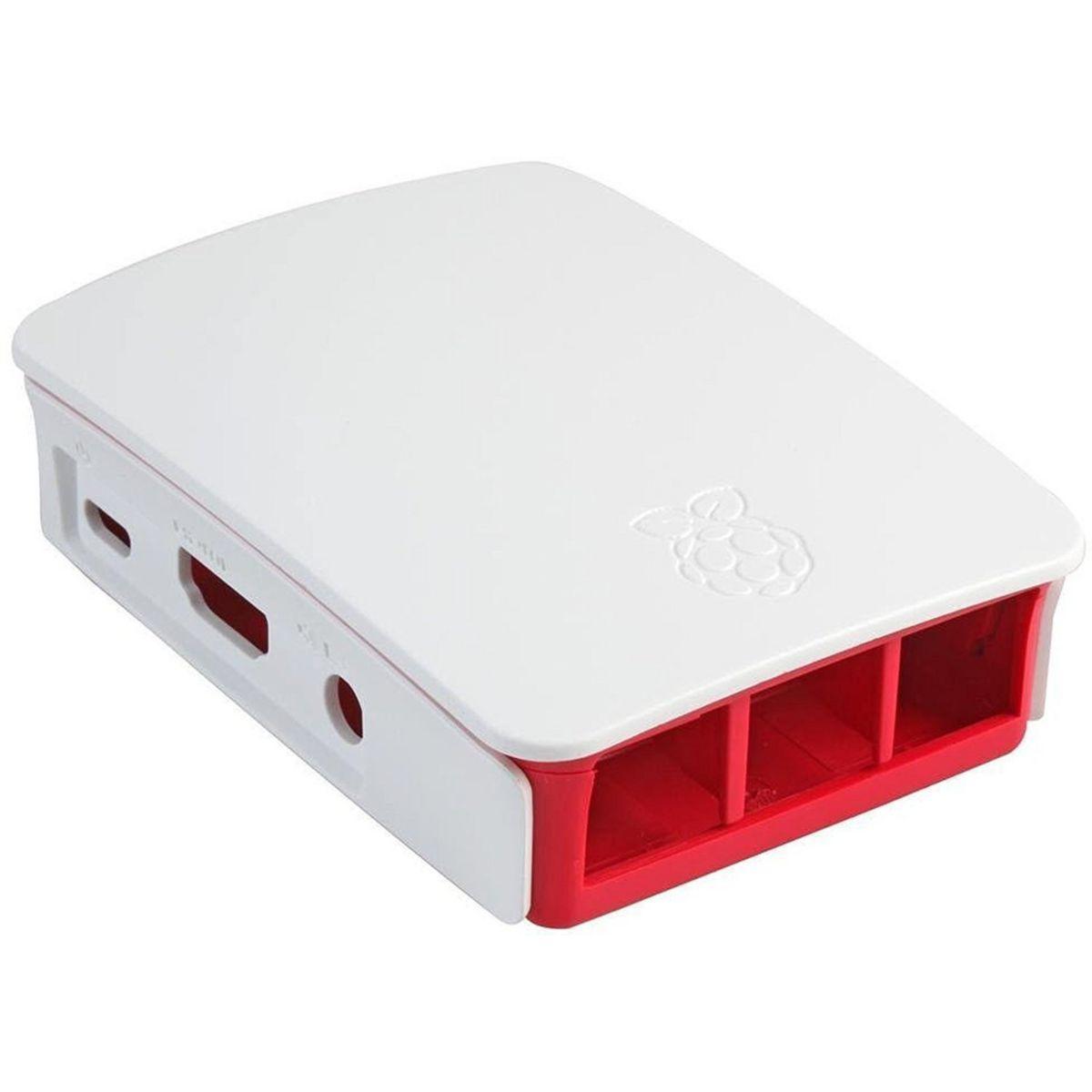 Boitier pc raspberry pi 3 case blanc - 2% de remise imm�diate avec le code : school2 (photo)
