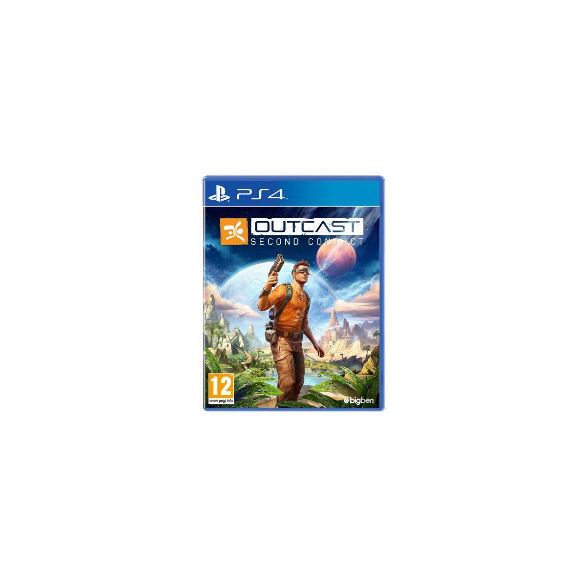 Jeu ps4 bigben outcast second contact - 2% de remise imm�diate avec le code : priv2 (photo)