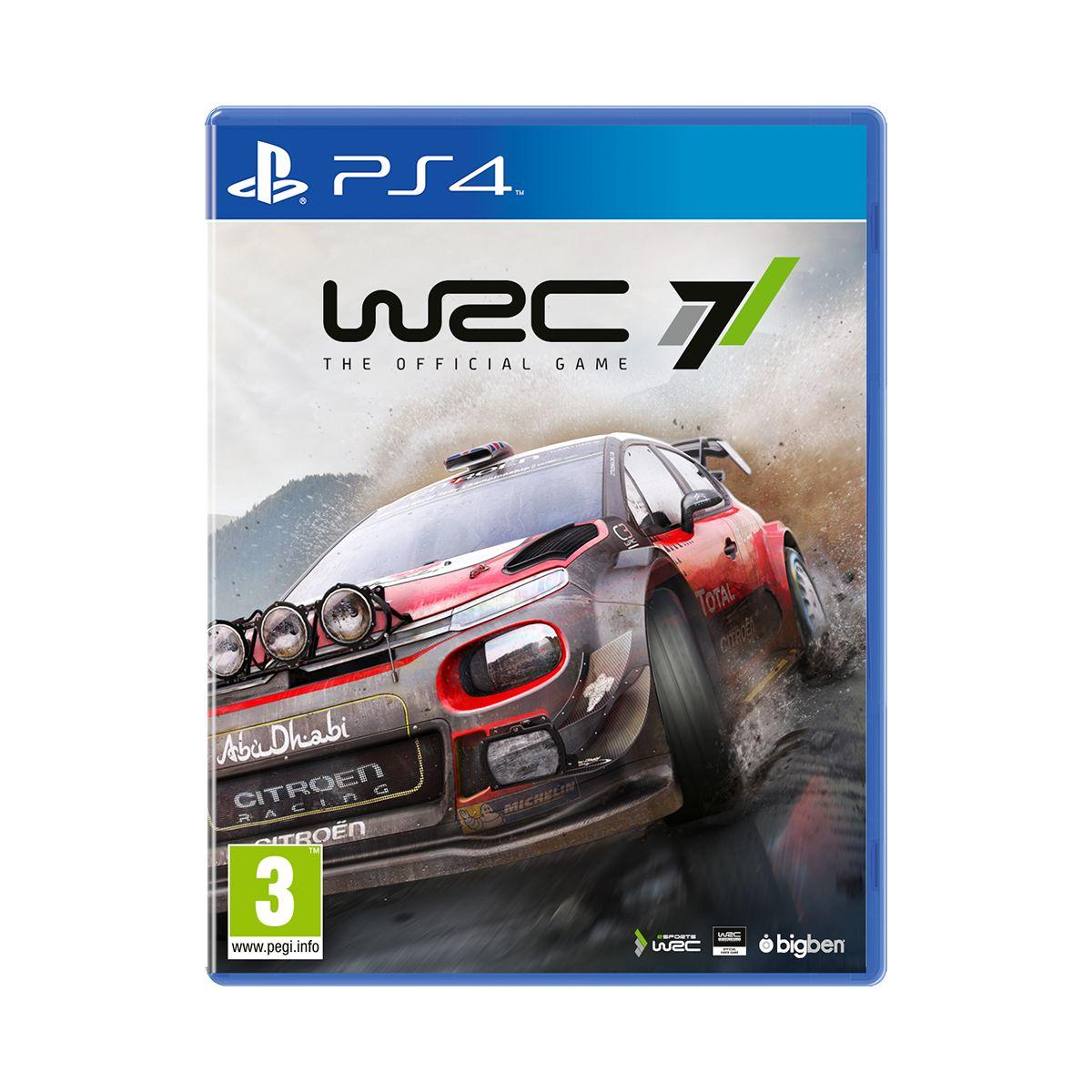 Jeu ps4 bigben wrc 7 (photo)