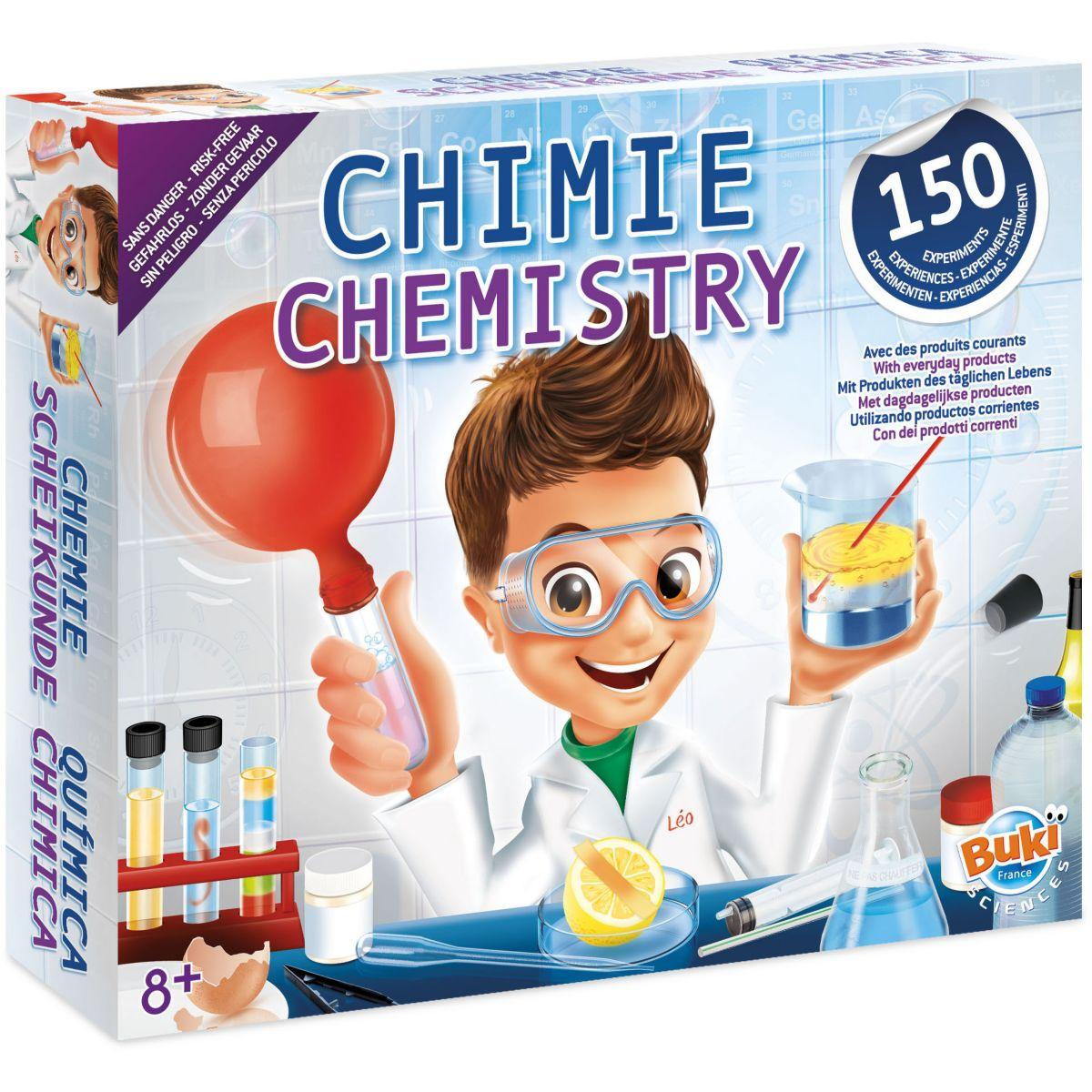Jeu �ducatif buki chimie sans danger - 150 exp�riences (photo)
