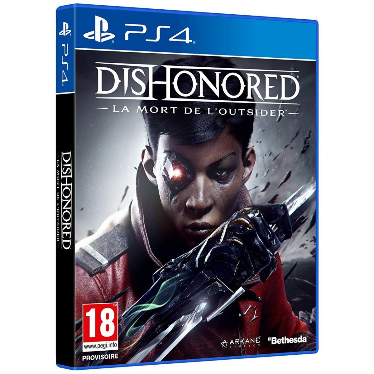 Jeu ps4 bethesda dishonored 2 la mort de (photo)
