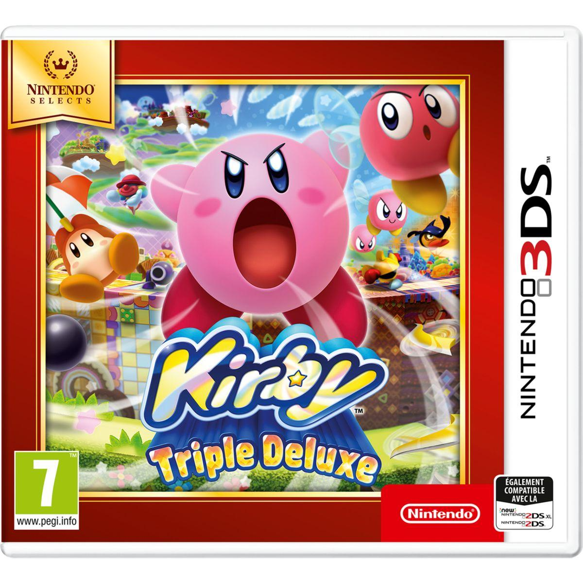 Jeu 3ds nintendo kirby triple deluxe selects (photo)