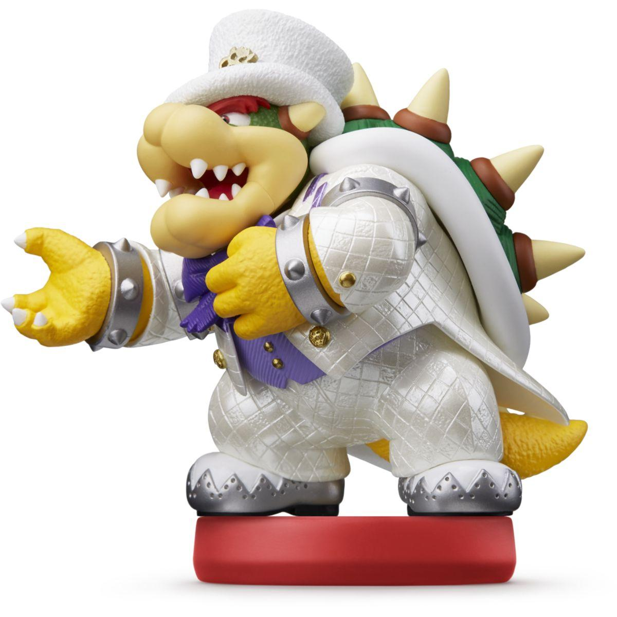 Figurine nintendo amiibo bowser tenue de (photo)