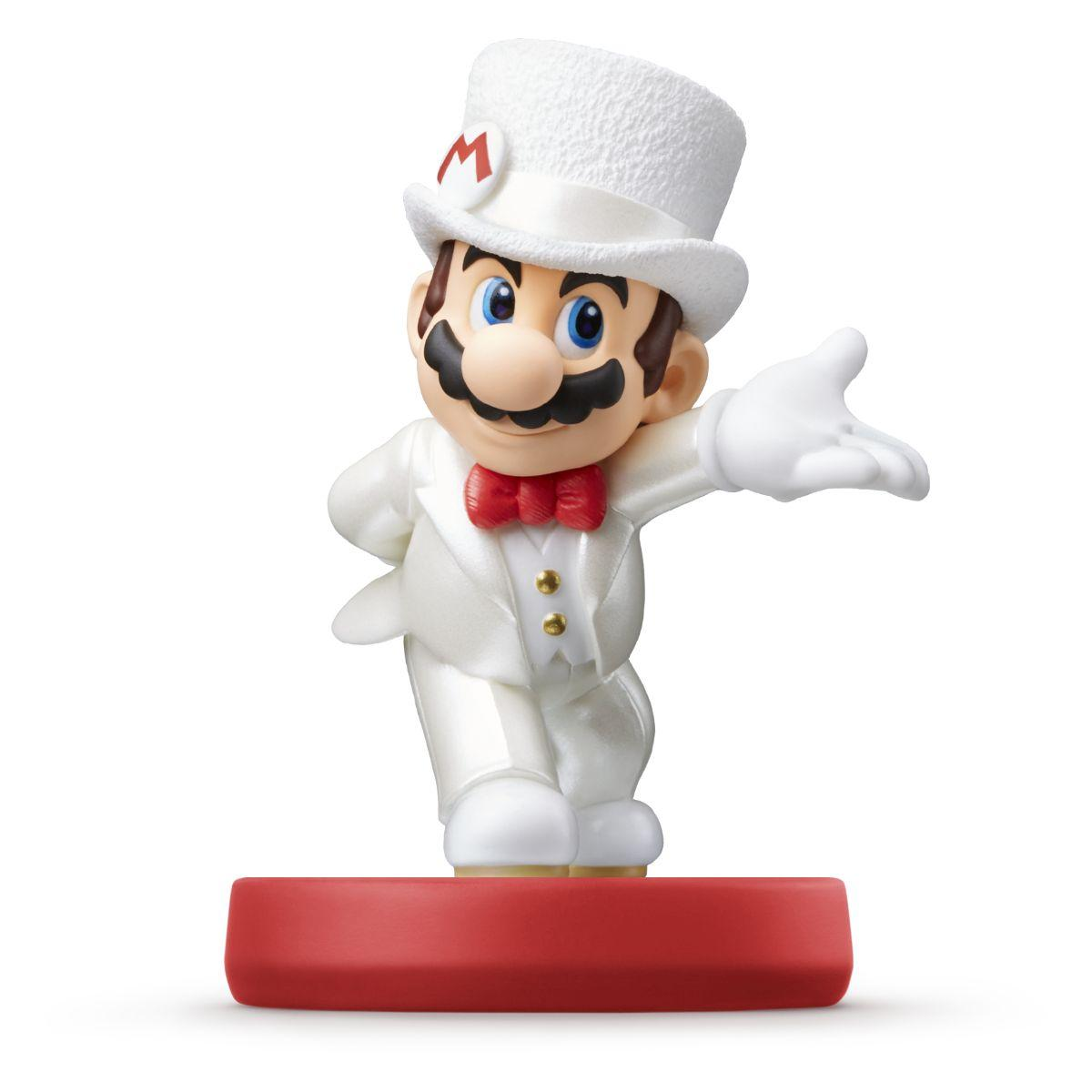Figurine nintendo amiibo mario tenue de (photo)