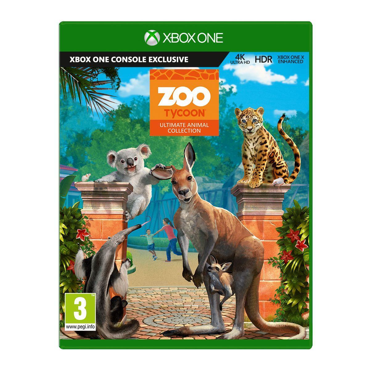 Jeu xbox one microsoft zoo tycoon - 10% de remise imm?diate avec le code : black10