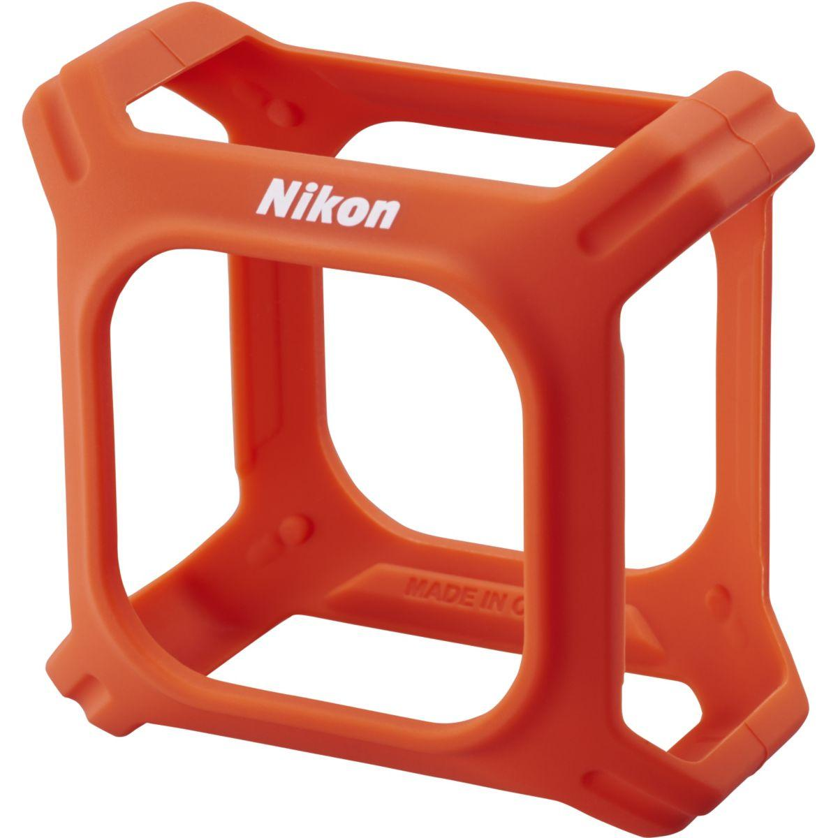 Boitier nikon silicone orange keymission (photo)