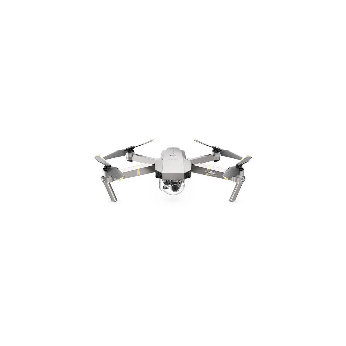 Drone dji mavic pro platinium fly more combo - 2% de remise imm�diate avec le code : deal2 (photo)