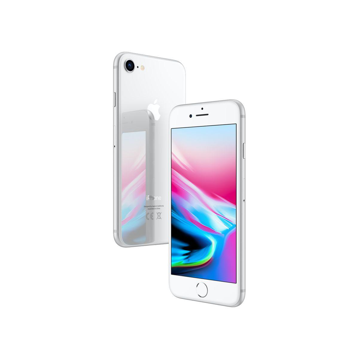 Smartphone apple iphone 8 argent 64 go