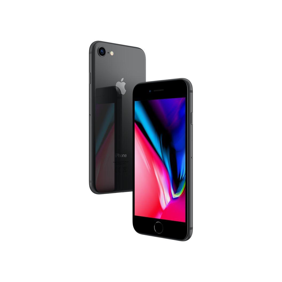 Smartphone apple iphone 8 gris sid�ral 256 go