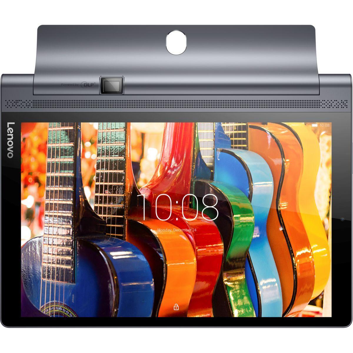 Tablette android lenovo yoga tab 10 pro 4g lte picoprojecteur - livraison offerte : code premium (photo)