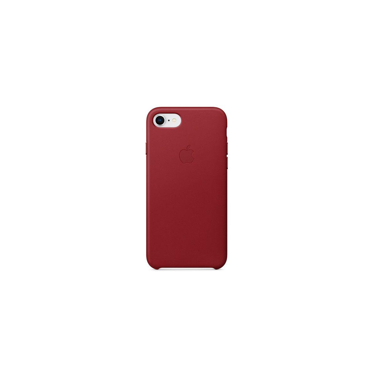 Coque apple iphone 7/8 cuir (product)red (photo)