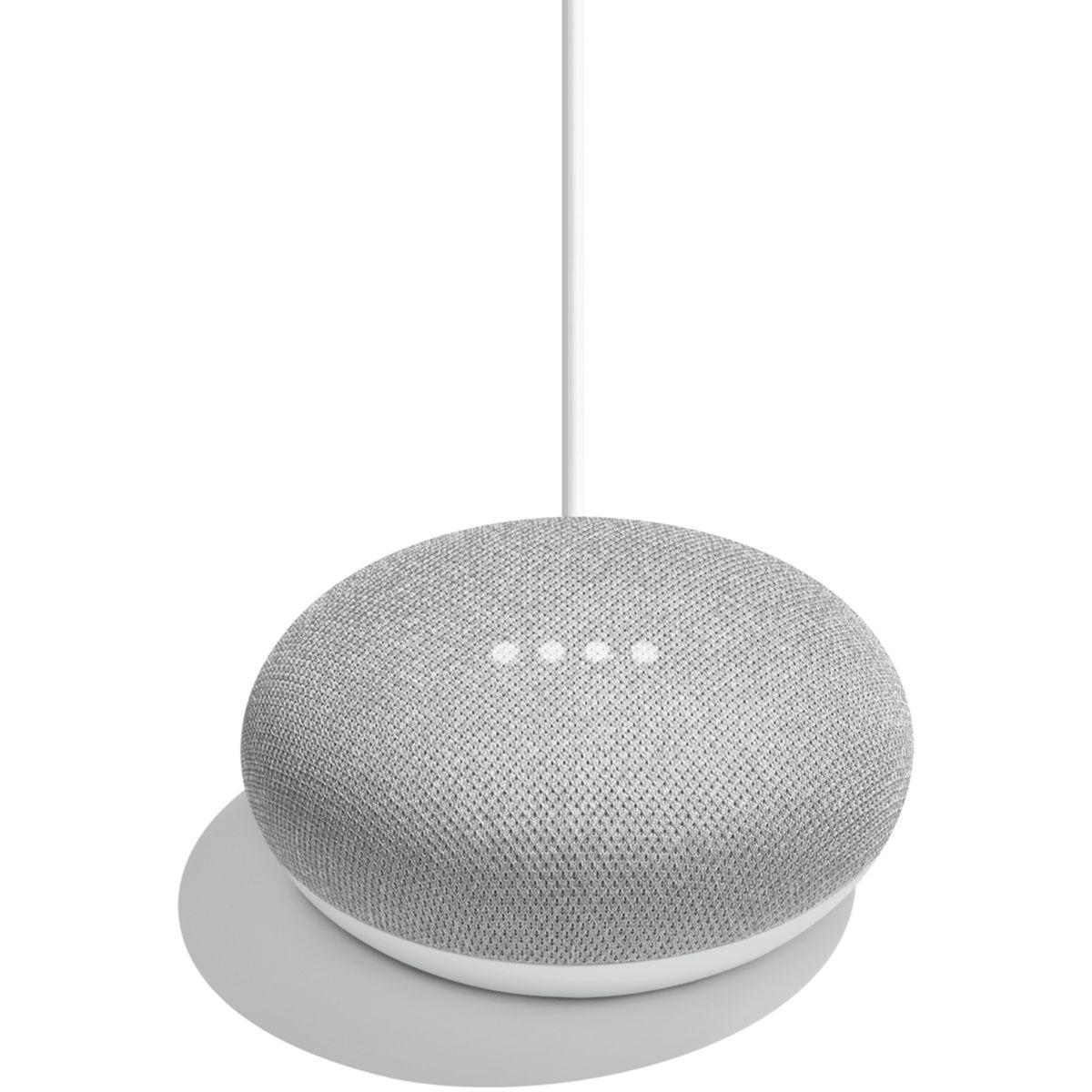 Assistant vocal google home mini - galet (photo)