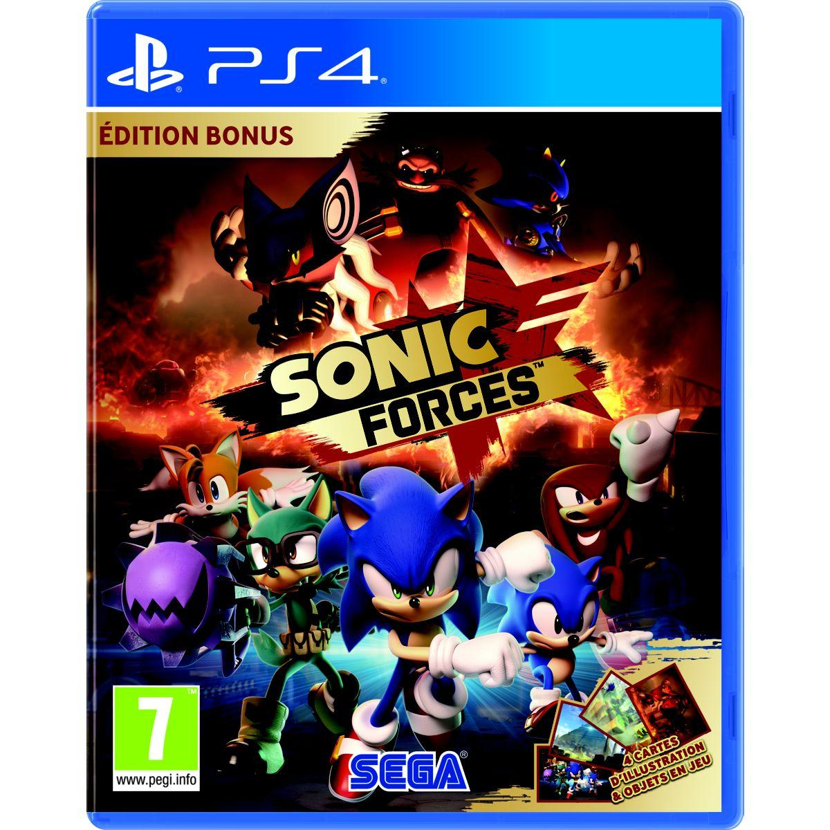 Jeu ps4 koch media sonic forces bonus edition (photo)