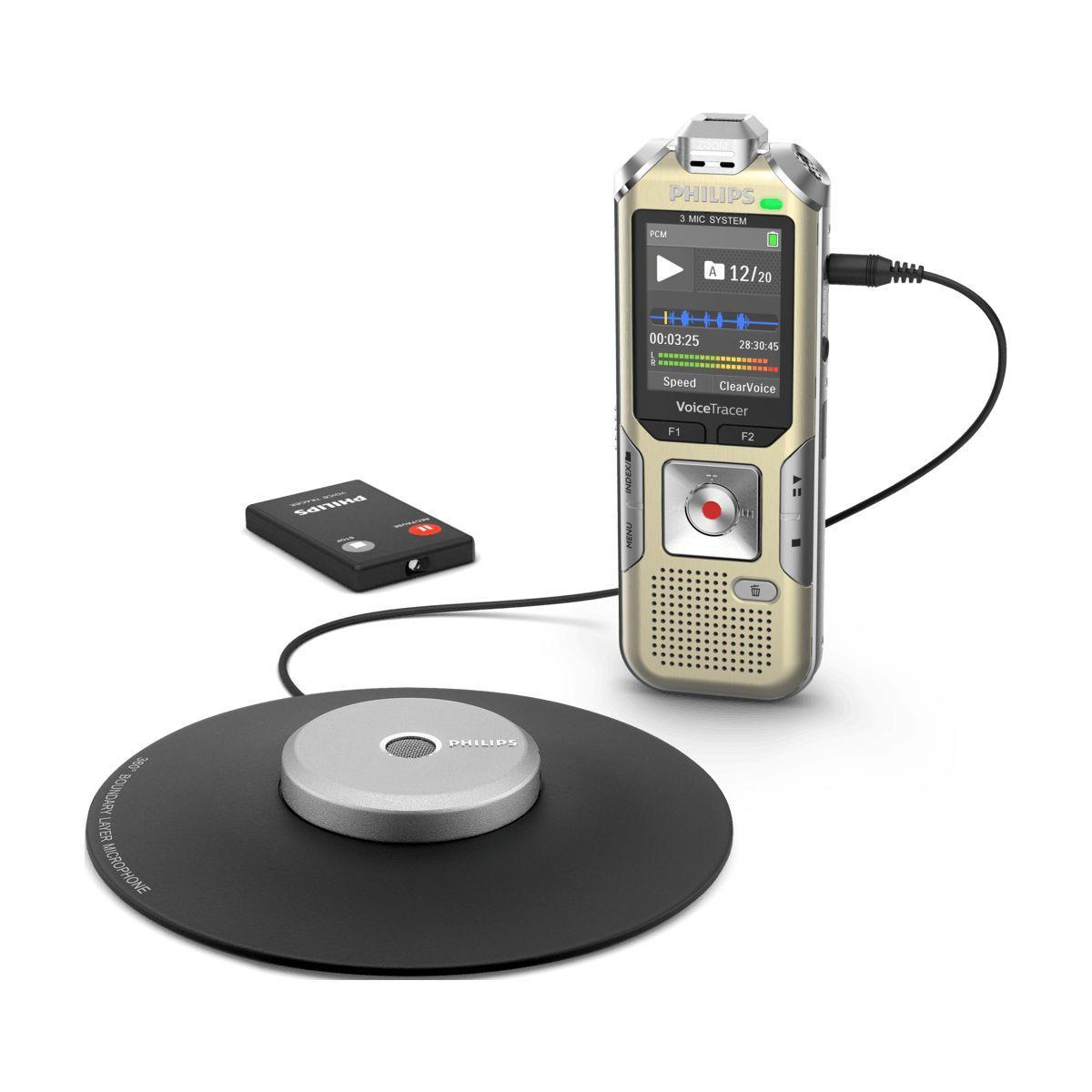 Dictaphone philips dvt8010 - 7% de remise imm�diate avec le code : school7 (photo)