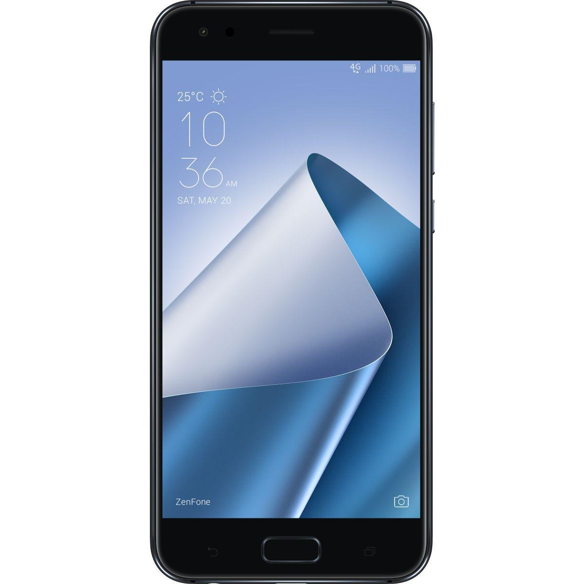 Smartphone asus zenfone 4 ze554kl noir - 2% de remise imm�diate avec le code : green2