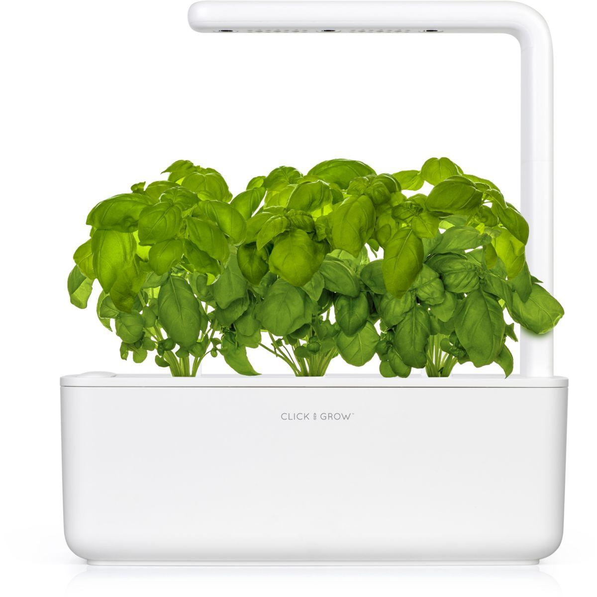 Jardin d'int�rieur click and grow smart garden 3 blanc - 7% de remise imm�diate avec le code : priv7 (photo)