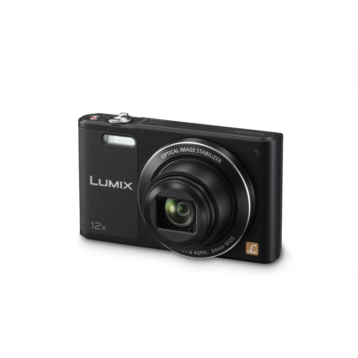 Appareil photo compact panasonic dmc-sz10 noir