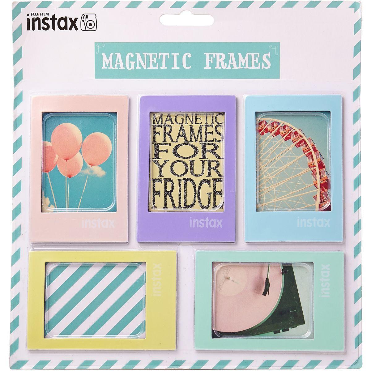 Album fuji magnets instax mini pastel (x5) (photo)