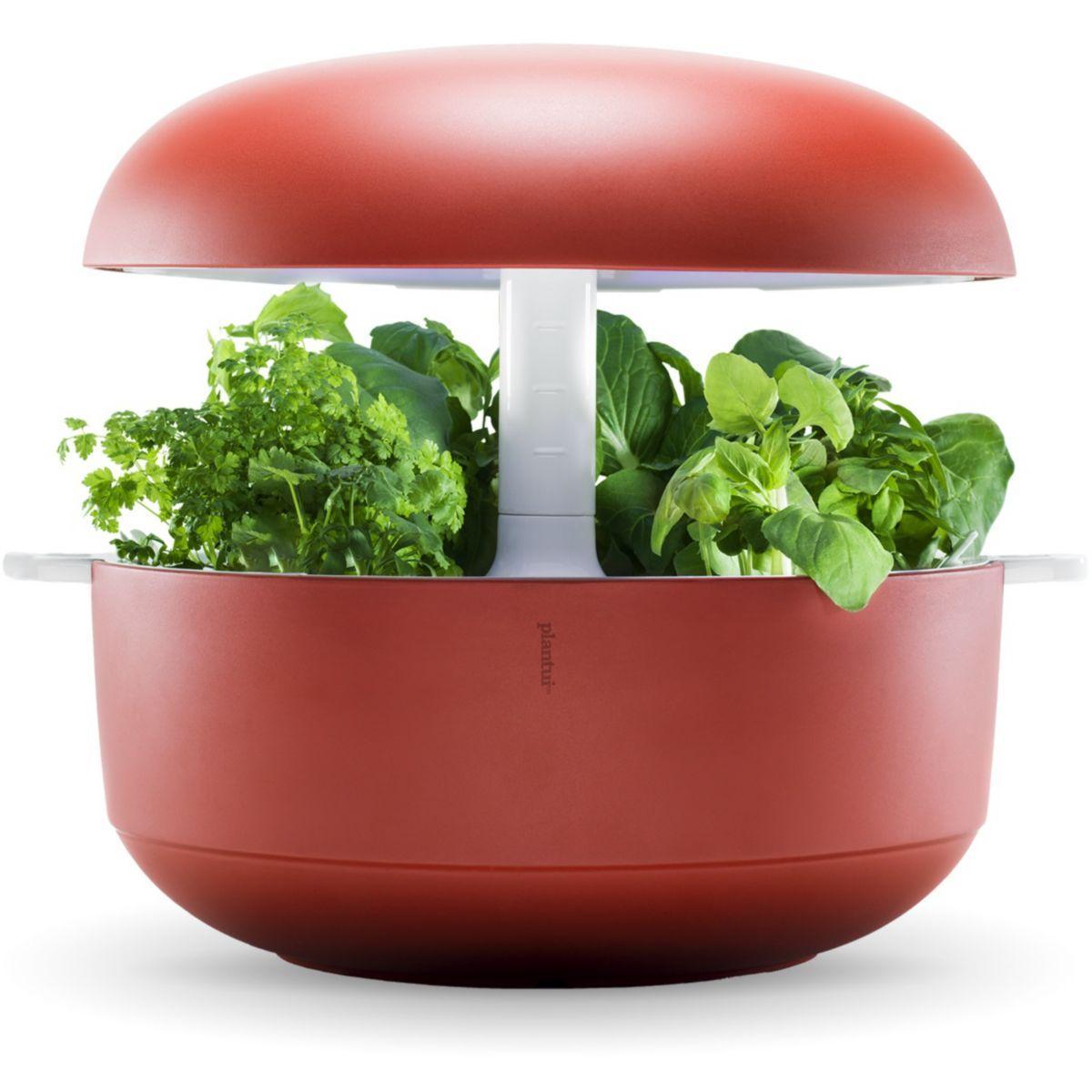 Jardin d'int�rieur plantui 6 smart garden rouge - 15% de remise imm�diate avec le code : priv15 (photo)