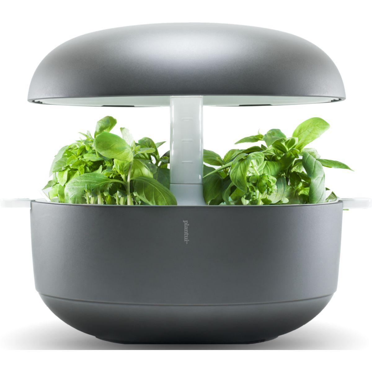 Jardin d'int�rieur plantui 6 smart garden gris - 2% de remise imm�diate avec le code : deal2 (photo)