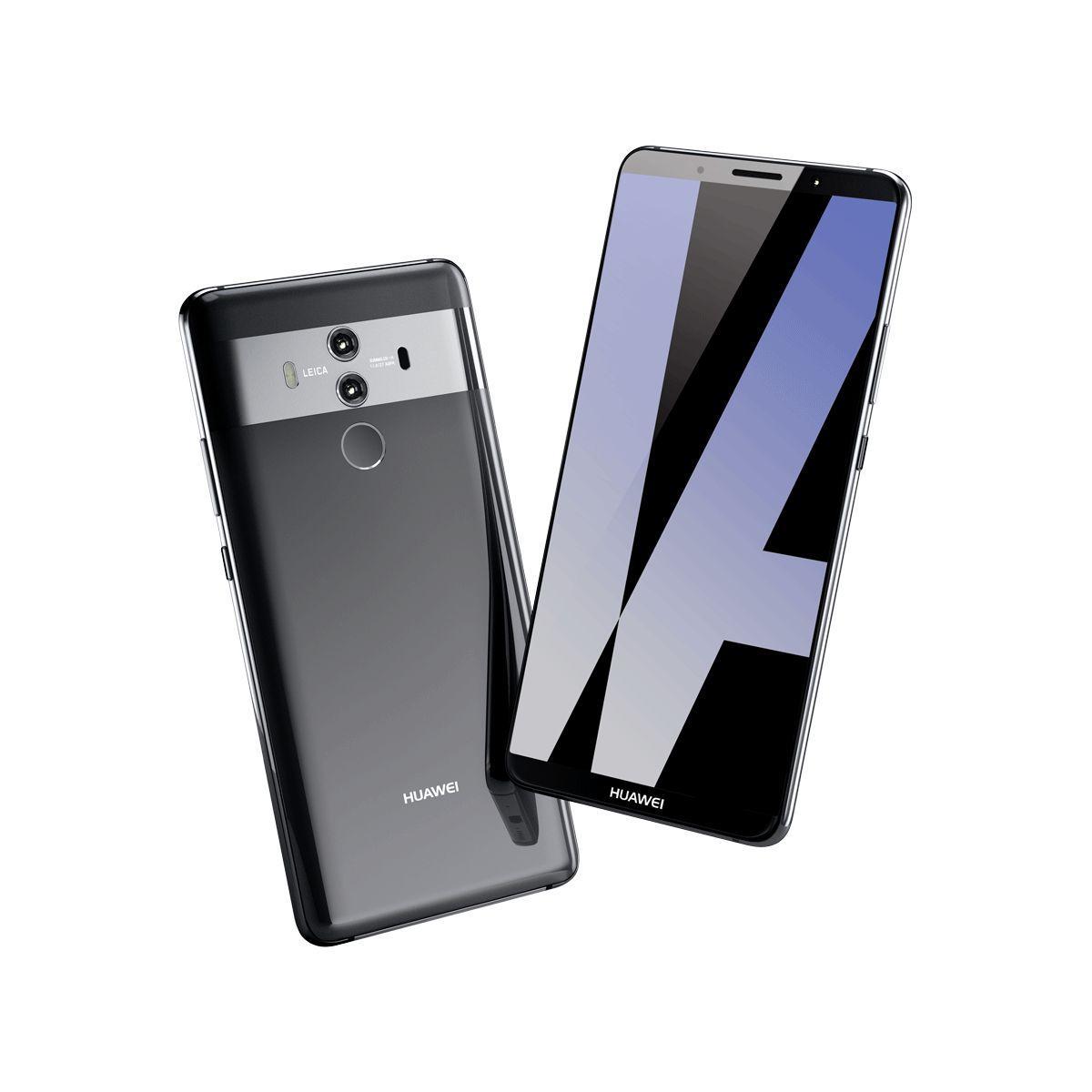 Smartphone huawei mate 10 pro titanium gray - livraison offerte : code premium