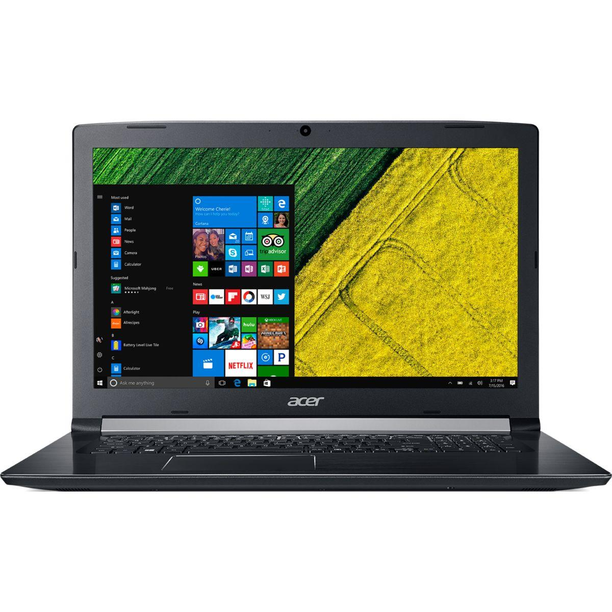 Portable acer aspire a517-51-30yj (photo)