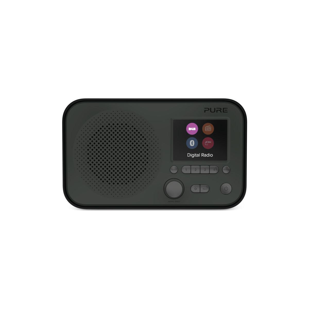 Radio num�rique pure elan bt3 noire - livraison offerte : code premium