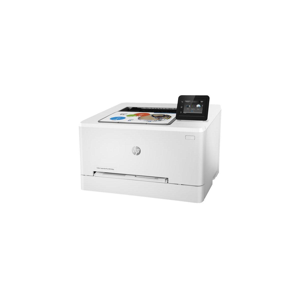 Imprimante laser couleur hp color laserjet pro m254dw