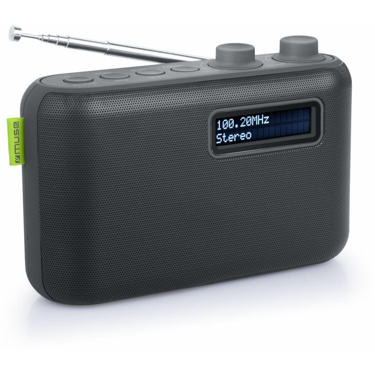 Radio num�rique muse m-108d noire