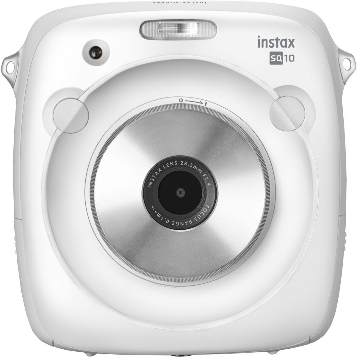 Appareil photo instantan? fuji instax square sq10 blanc - 5% d...