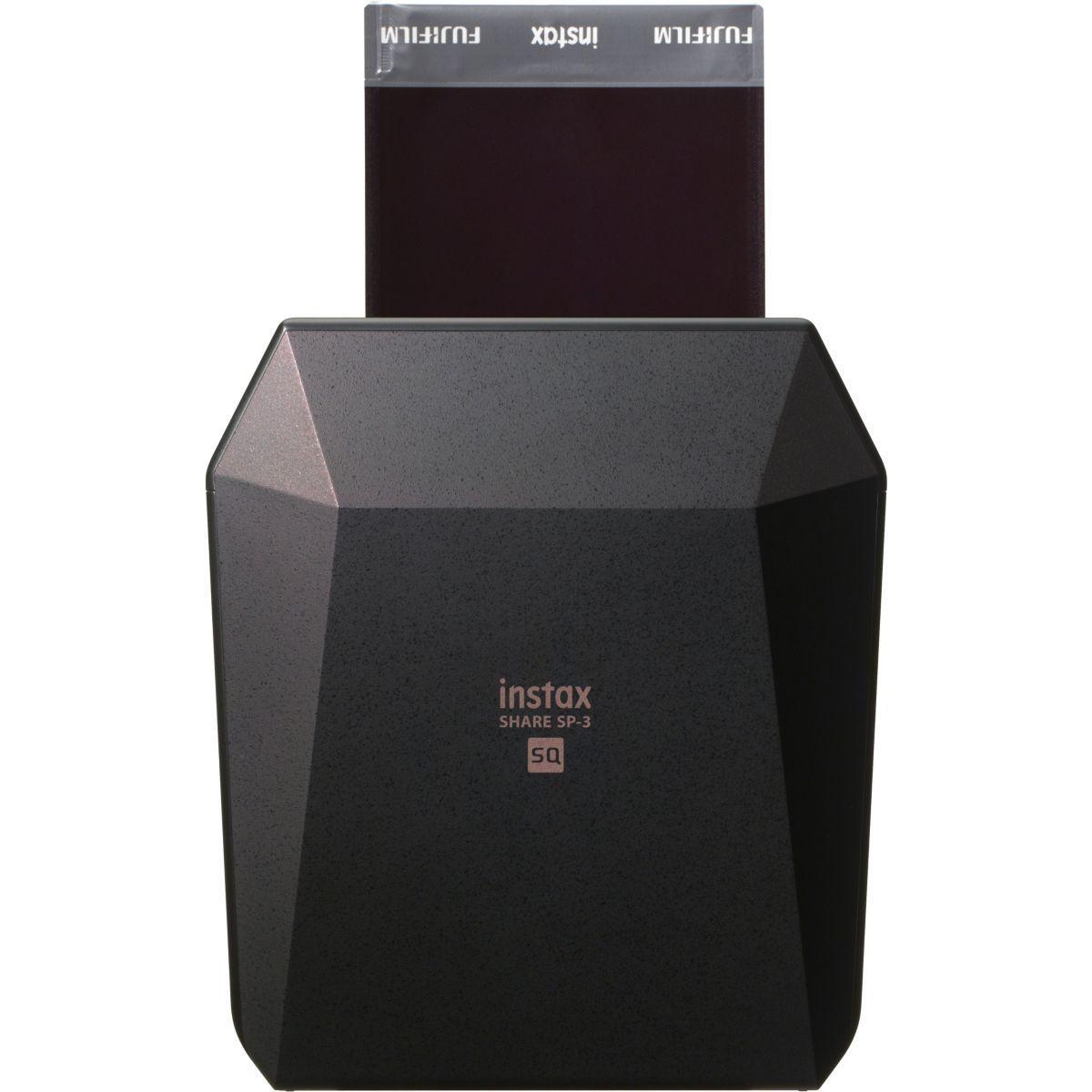 Impr. fuji instax share sp-3 noir - 5% de remise imm�diate avec le code : paques5 (photo)