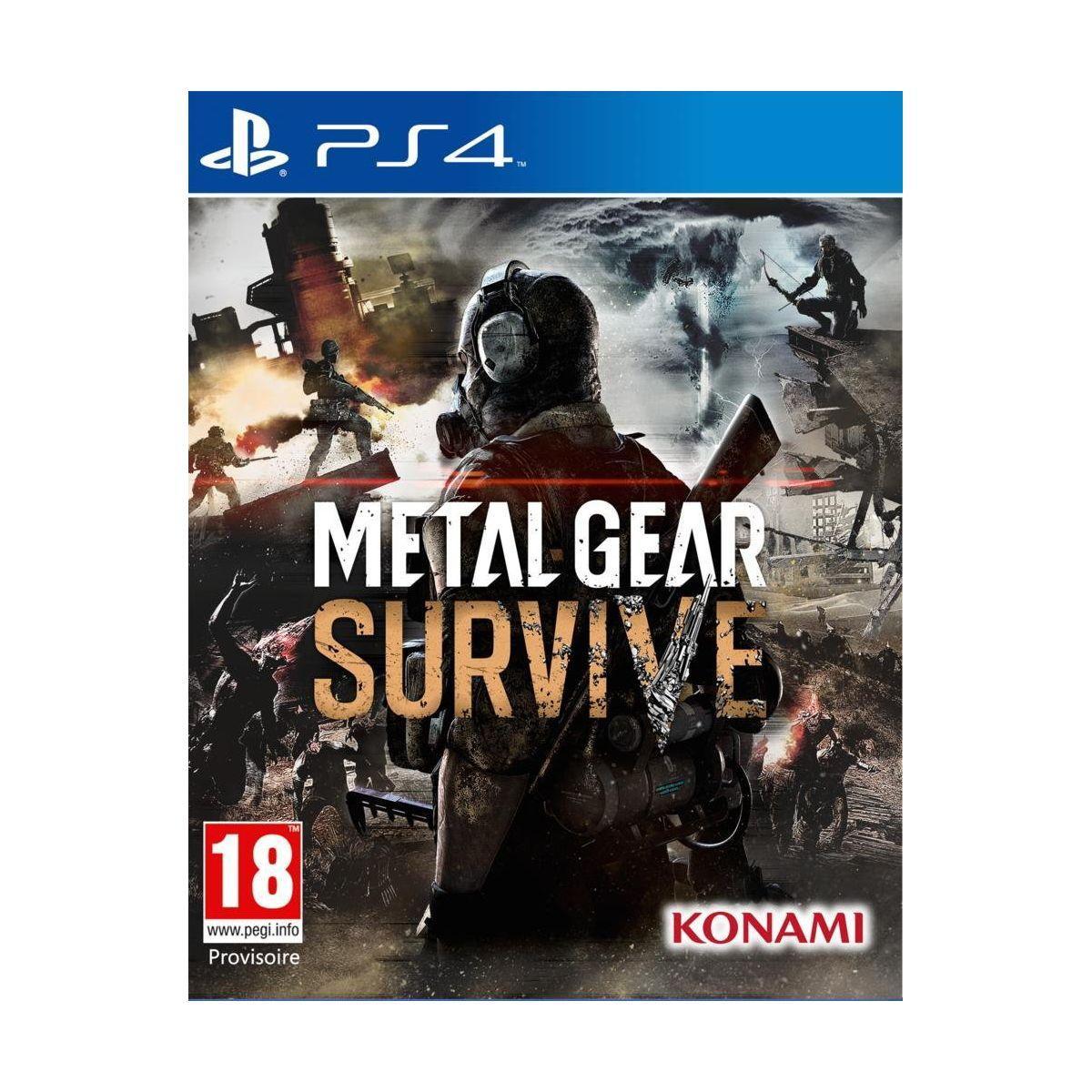 Jeu ps4 konami metal gear survive (photo)