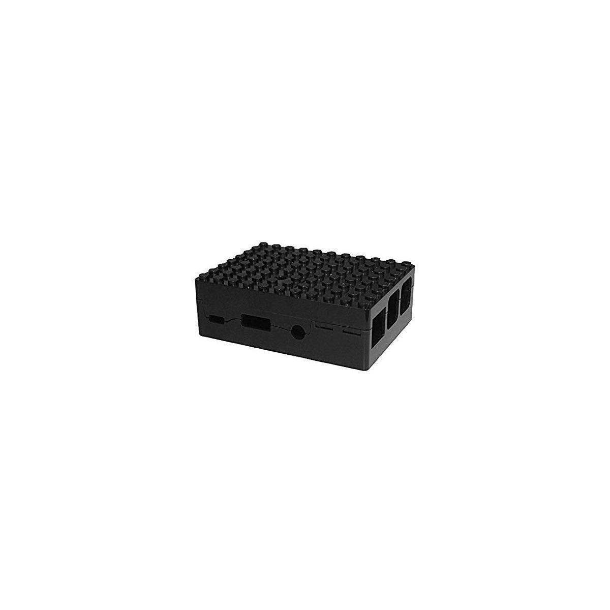 Boitier pc multicomp pi-blox noir - 2% de remise imm�diate avec le code : school2 (photo)