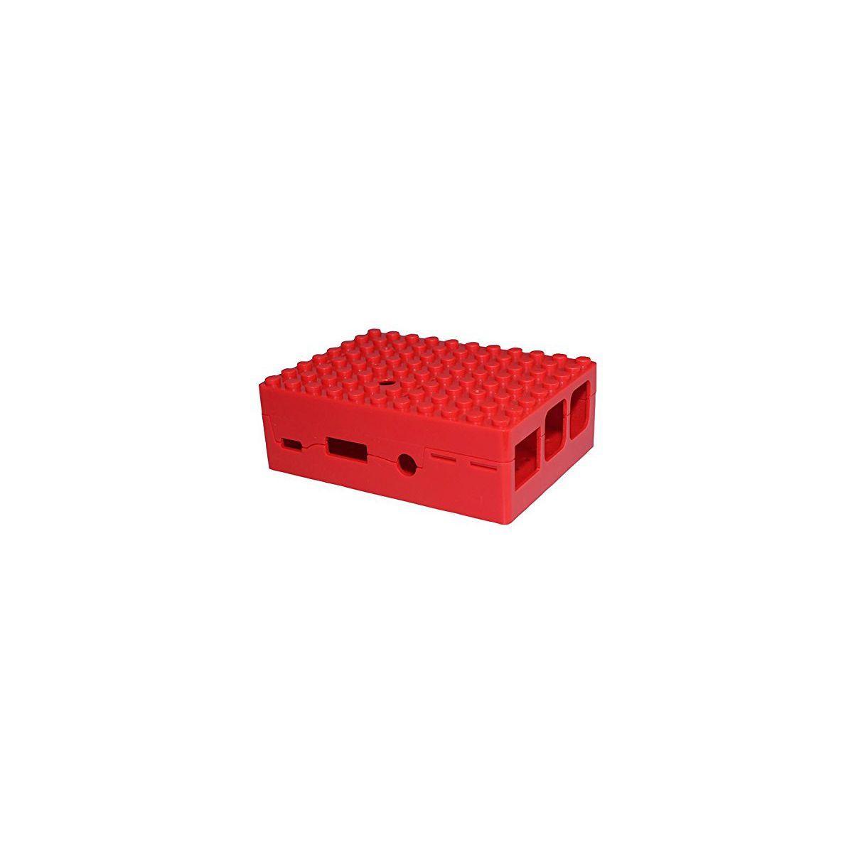 Boitier pc multicomp pi-blox rouge - 2% de remise imm�diate avec le code : school2 (photo)