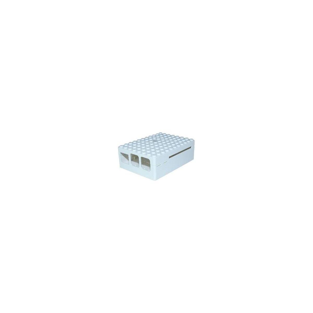 Boitier pc multicomp pi-blox blanc - 2% de remise imm�diate avec le code : school2 (photo)