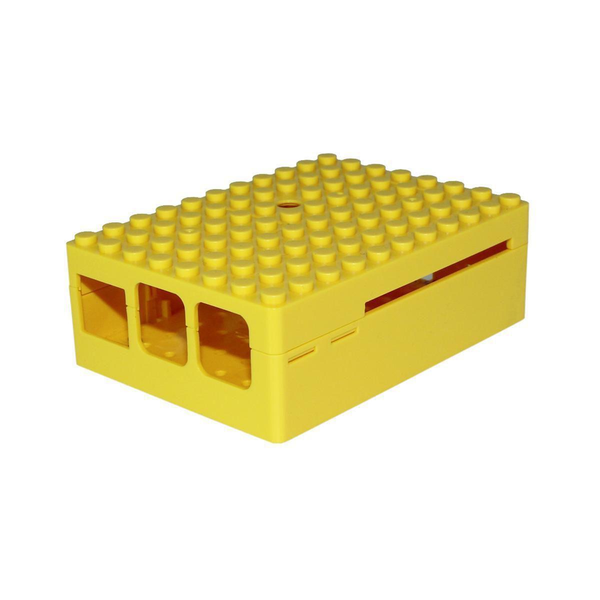 Boitier pc multicomp pi-blox jaune - 2% de remise imm�diate avec le code : school2 (photo)