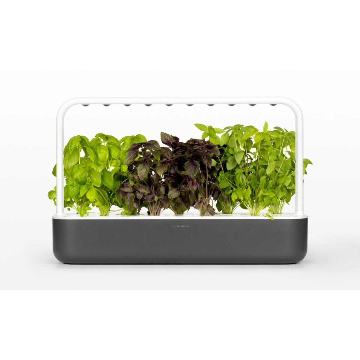 Jardin d'int�rieur click and grow smart garden 9 gris - 10% de remise imm�diate avec le code : priv10 (photo)