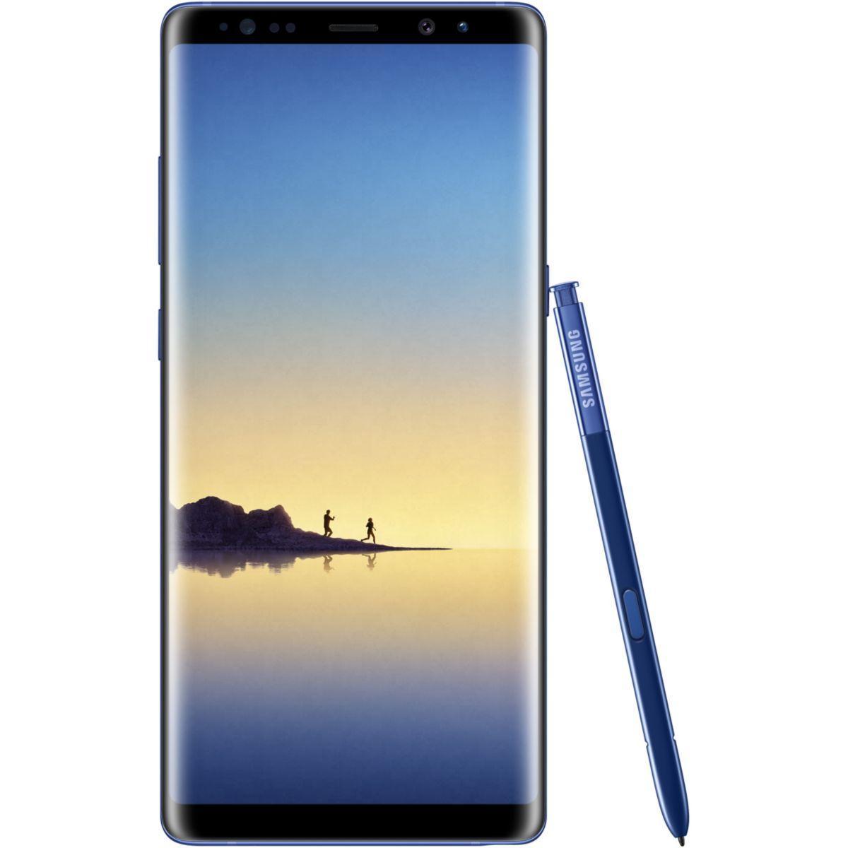 Smartphone samsung galaxy note 8 bleu - 2% de remise imm�diate avec le code : deal2