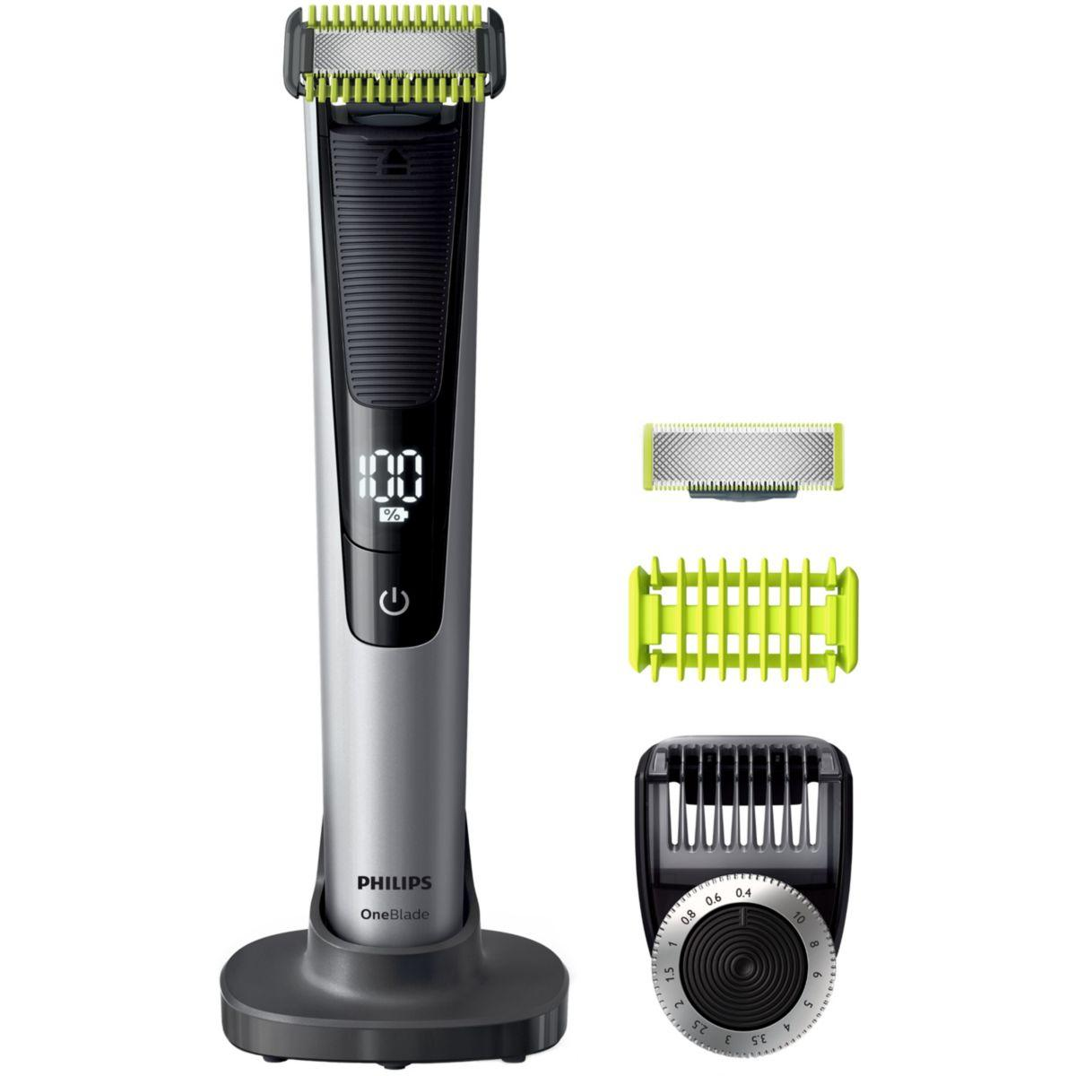 Tondeuse barbe et corps philips one blade qp6620/20 - livraison offerte : code premium (photo)