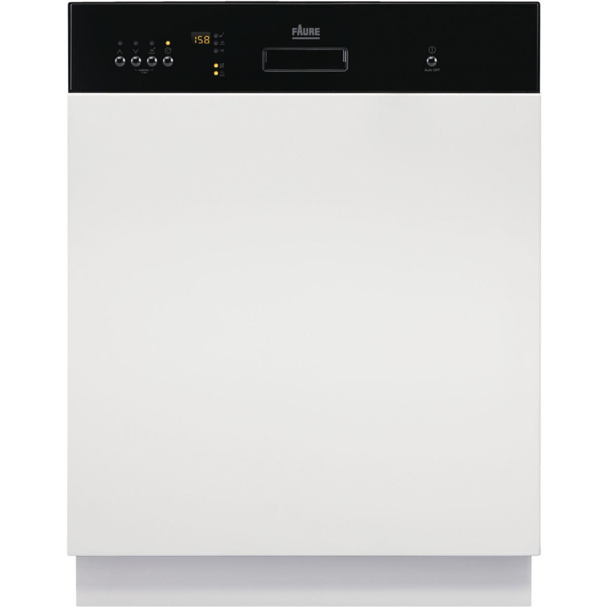 Lave vaisselle encastrable faure fdi26022na - 7% de remise imm�diate avec le code : gam7