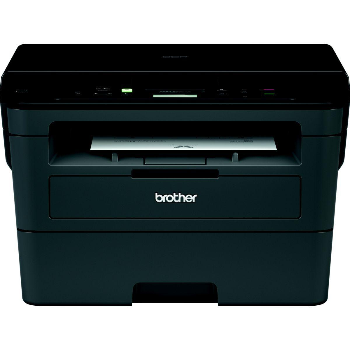 Imprimante laser noir et blanc brother dcp-l2530dw - livraison offerte : code liv
