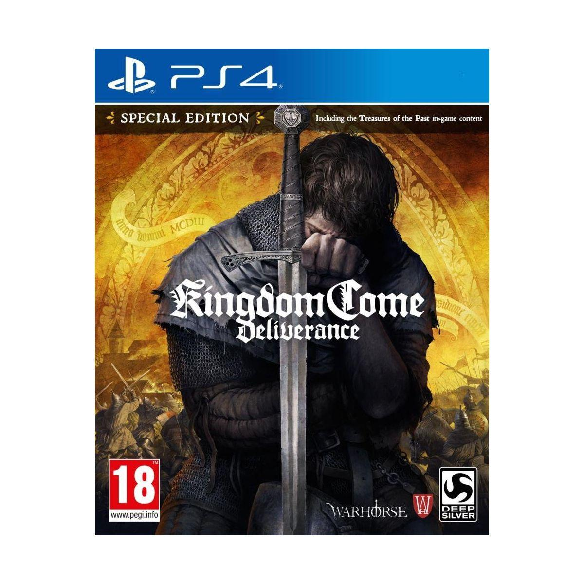 Jeu ps4 koch media kingdom come deliverance edition limit�e - 2% de remise imm�diate avec le code : priv2 (photo)