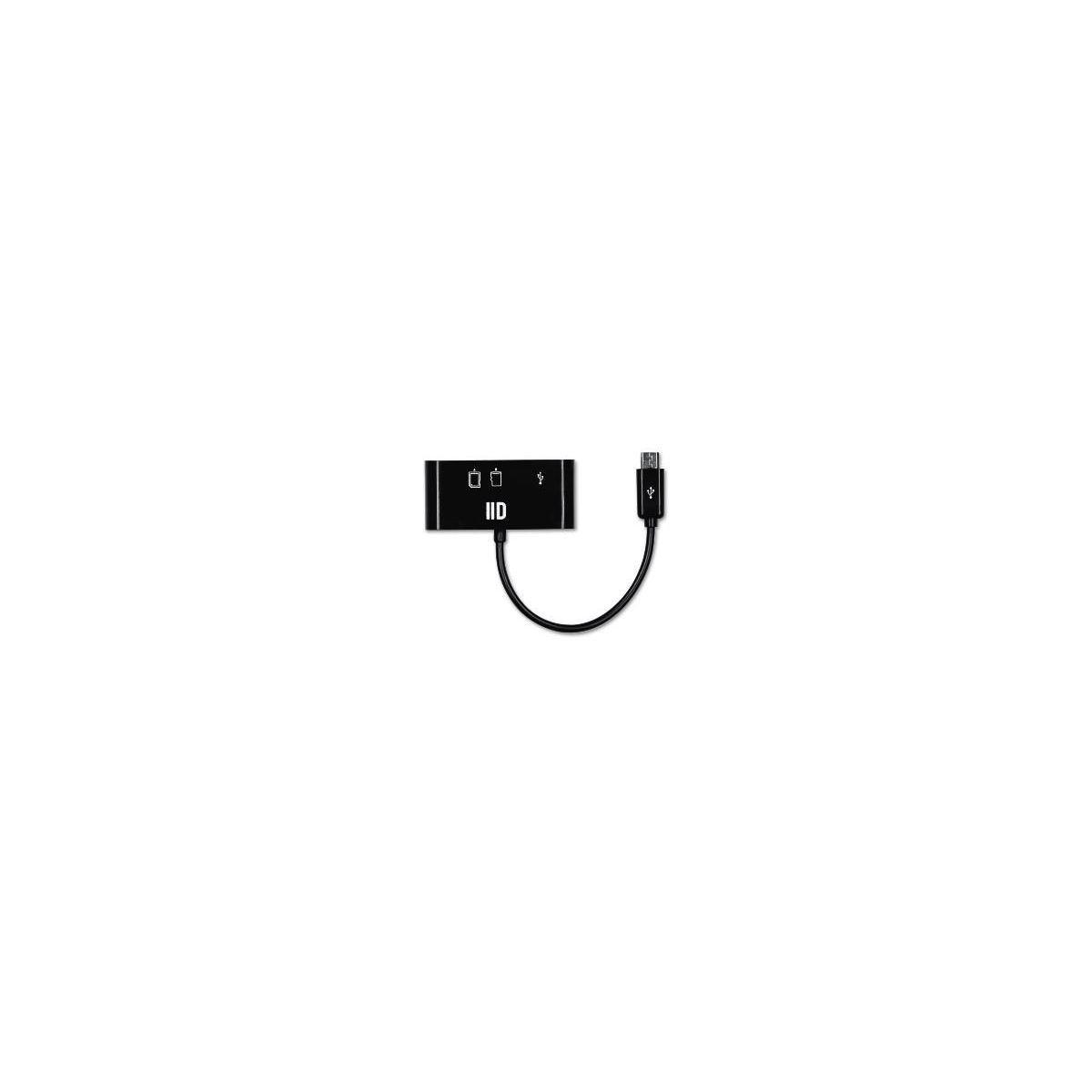 Lecteur d2 sd micro sd port micro usb (photo)
