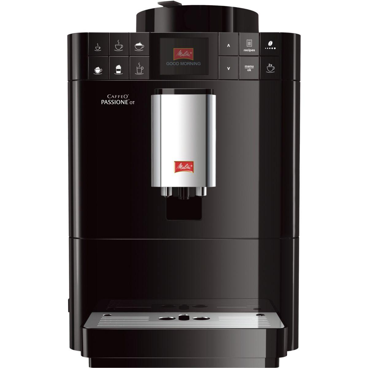 Expresso broyeur melitta passione one touch noir (photo)