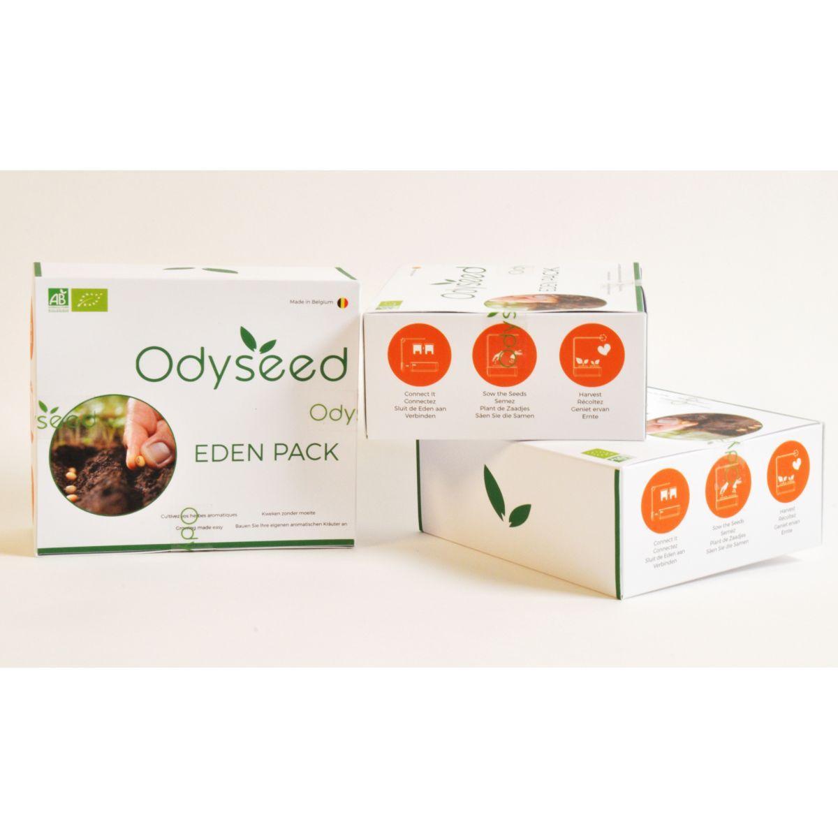 Recharge odyseed persil & basilic thai - 10% de remise imm�diate avec le code : paques10 (photo)